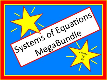 Systems of Equations MegaBundle