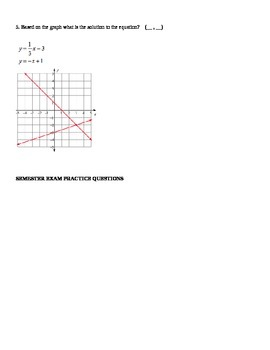 Systems of Equations Mini-quiz