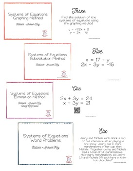 Systems of Equations Movement Bundle