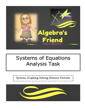 Systems of Equations Multi-Step Analysis Task