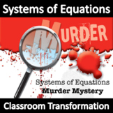 Systems of Equations Activity! Murder Mystery!