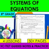Systems of Equations Notes