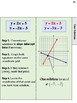 Systems of Equations Notes/Foldables