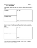 Systems of Equations- Partner Activity- Set 2