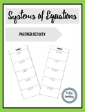 Systems of Equations Partner Check