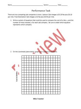 fifth grade math performance tasks ebook