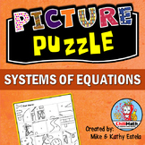 Systems of Equations Picture Puzzle