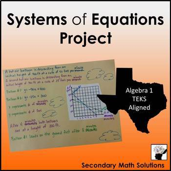 Systems of Equations Project (A5C, A2I)