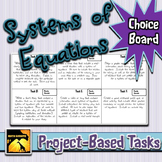 Systems of Equations: Project- Based Tasks