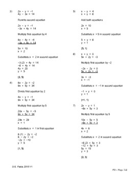 Fun Algebra Puzzles - Solving Linear Systems of Equations Problems