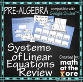 Systems of Equations - Review - GOOGLE Slides