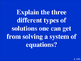 Systems of Equations Review - Jeopardy