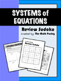 Systems of Equations - Review Sudoku