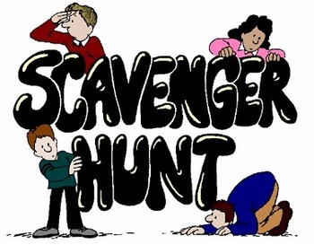 Systems of Equations Scavenger Hunt (Graphing & Substitution)