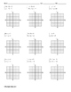 Systems of Equations - Solve by Graphing ALGEBRA Worksheet