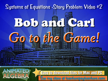 Systems of Equations - Story Problem Video 2