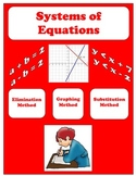 Systems of Equations Study Guide, Quiz, and Test