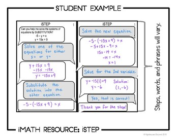 Systems of Equations: Substitution - iStep