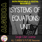 Systems of Equations Unit Membership