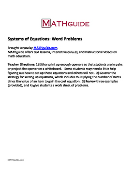Algebra homework help word problems