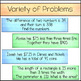 Solving Systems of Equations Word Problems - Notes & Homework