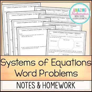 Word problems homework help