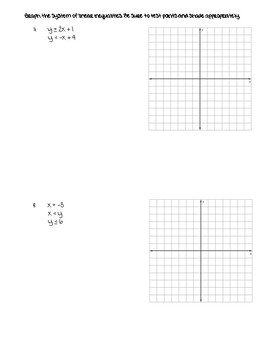 Systems of Equations and Inequalities TEST