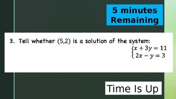 Systems of Equations and Inequalities Unit Review