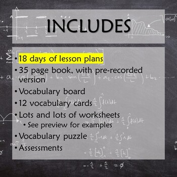Systems of Equations and Inequalities for Special Education with lesson plans