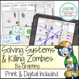 Solving Systems of Equations by Graphing Activity & Zombies