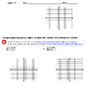 Systems of Equations (solutions and graphing)