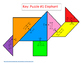 Systems of Equations w/Elimination - Tangram puzzles (6 le