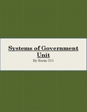 Systems of Government Unit