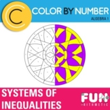 Systems of Inequalities Color by Number