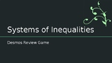 Systems of Inequalities Desmos Activity