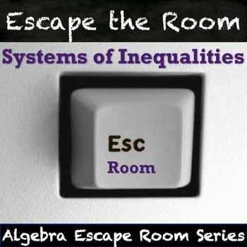 Systems of Inequalities Activity - QR Code Escape Room