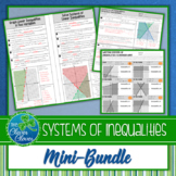 Systems of Inequalities - Guided Notes, Worksheets and a Scavenger Hunt