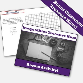 Graphing Linear Inequalities Activity & Notes Bundle!