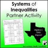 Systems of Inequalities Partner Activity (A3H)