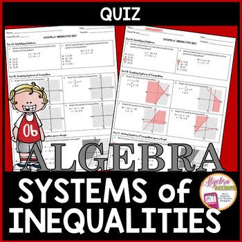 Systems of Inequalities QUIZ