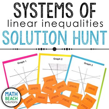 Systems of Inequalities Solution Hunt