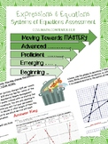 8.EE.8 Systems of Linear Equations Assessment