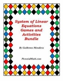 Algebra Resource: Systems of Linear Equations Games and Ac