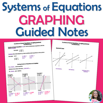Systems of Linear Equations Graphing Method Guided Notes