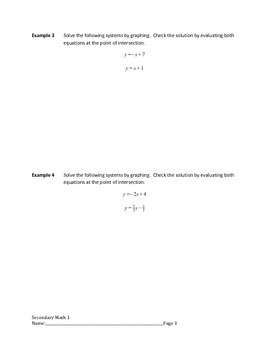 Systems of Linear Equations Lesson 1 of 12