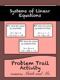 Systems of Linear Equations Problem Trail