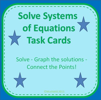 System Of Linear Equation Review Activity Teaching Resources ...