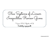 Systems of Linear Inequalities CLUE Game