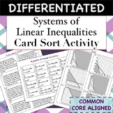 Systems of Linear Inequalities Card Sort