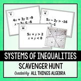 Systems of Inequalities Scavenger Hunt